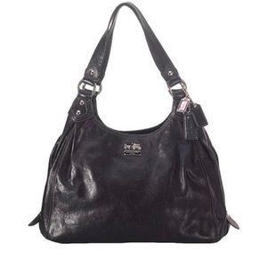Coach Madison Leather Maggie Shoulder Handbag